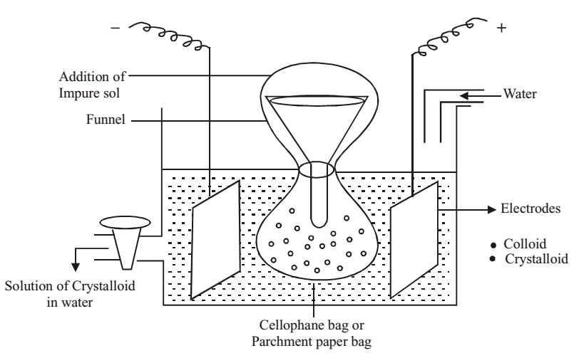 purification of colloidal solution